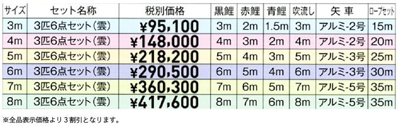 優輝 価格表
